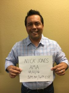 AMA Nick Jones