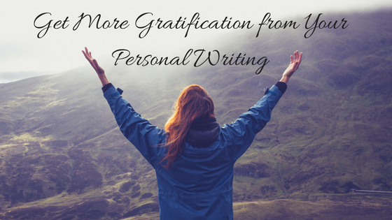 Get more gratification from journaling